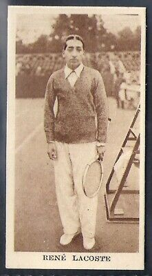 Phillips-Sporting Champions-#08- Tennis - Rene Lacoste