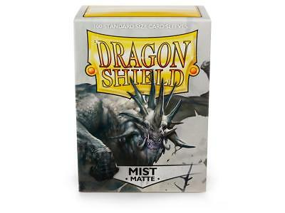 Dragon Shield Mat Mist 100 Protective Sleeves Standard Card Holder Cases