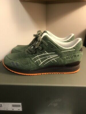 super popular 915e4 bbbbf RONNIE FIEG X Asics Gel-Lyte III Militia Mossad Sz 11 Legends Day Japan Kith