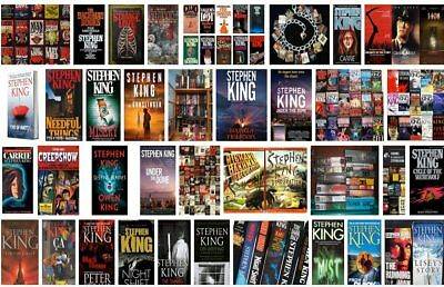 Stephen King 's Huge EBOOK Collection (Epub/Mobi/Pdf) 80+ books email download