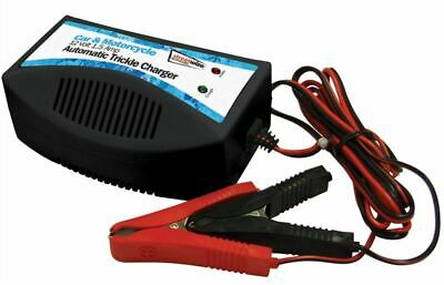 Streetwize 12v Battery Trickle Charger for Gel Acid Batteries c/w Croc Clips