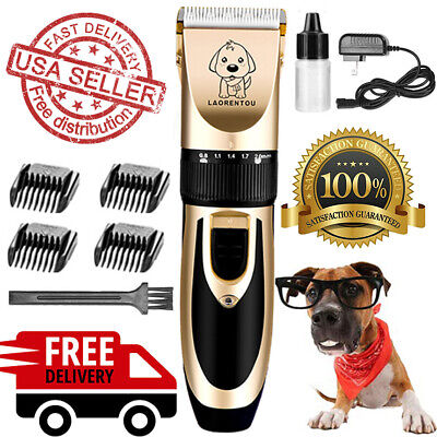 Animal Electric Hair Trimmer Shaver Razor Grooming Set Dog Cat Pet Shave Machine