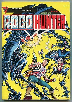 ROBO-HUNTER Album N°1 - AREDIT 10-1987
