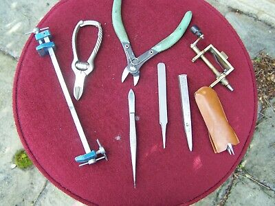 Clock and Watch makers Tools