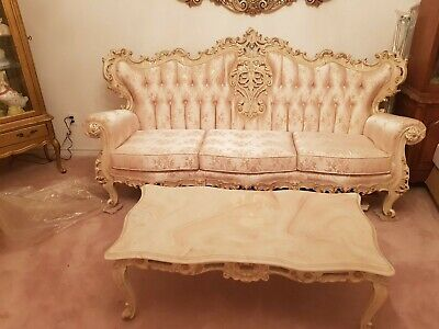 LOUIS XV FRENCH Provincial Living room set - $9,000.00 ...
