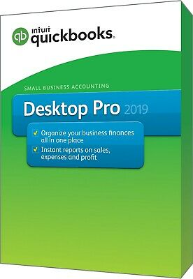 QuickBooks Pro 2019 Desktop 3 User from an Intuit QuickBooks Solution Provider