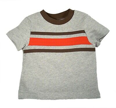 Circo Baby Boy Striped Short Sleeve T-Shirt Heather Gray Size 6 months