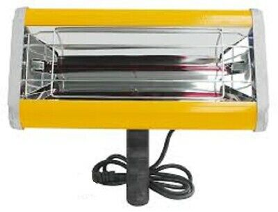 1 KW Infrared Paint Dryer Shortwave Body Panel Curing Lamp Hand Held £67.00+ VAT