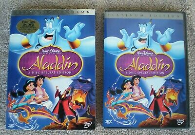 Walt Disney Aladdin Platinum Edition Dvd Set