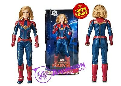 "Disney Store CAPTAIN MARVEL DOLL 10"" MOVIE SPECIAL EDITION Hero Figure NEW 2019"