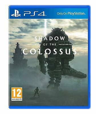 Playstation 4 Sony Shadow Of The Colossus Ps4 Nuovo