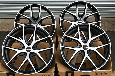 "18"" Bmf Novus 01 Alloy Wheels Fits Ford 5X108 Focus Mondeo Transit Connect Edge"