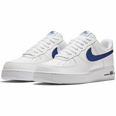 2019 Taille Nike Bleu Neuf Air 1 Cuir Force Baskets Blanc Hommes Roi '07 Uk SMqzVjLUpG