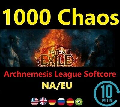 1000 Orb of Chaos SYNTHESIS League Softcore (Path of Exile POE) 1000c EU/NA/UK