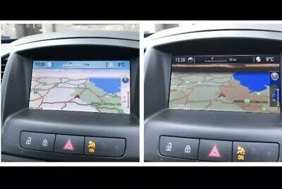 VAUXHALL INSIGNIA/ASTRA CD500/DVD800 Firmware Upgrade for MY2009/10 or  MY2011