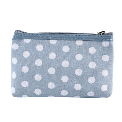 Cosmetic Bags Dot Makeup Pouch Travel Toiletry Small Zipper Bag Portable G
