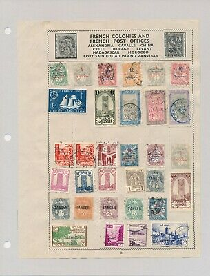 274 French Colonies Stamps. Most Mint. All Hinged.