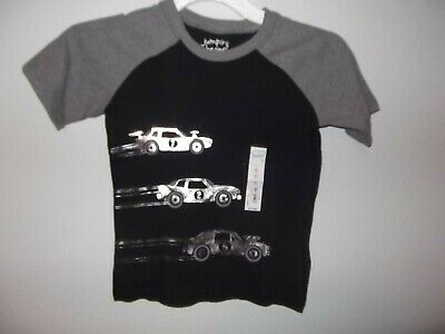 Jumping Beans - Toddler - T-Shirt - Black / Gray - Size 4   (Ac-29-51)