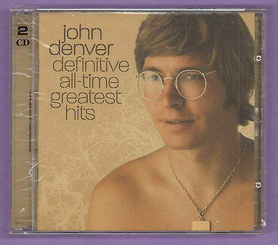 John Denver Definitive All-Time Greatest Hits Music CD 2004 RCA BMG New/Sealed