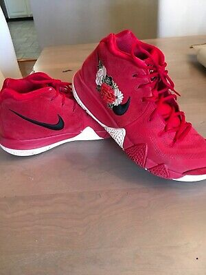 newest 88a92 e70b5 NIKE KYRIE 4 Chinese New Year (2018), Red, Preowned US Size 10