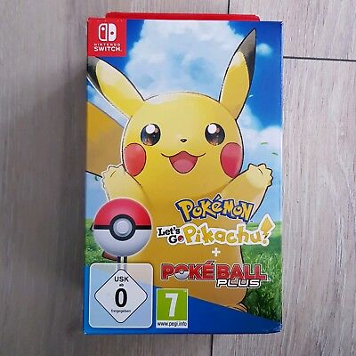 Nintendo Switch Pokémon: Let's Go Pikachu mit Poke Ball NEU