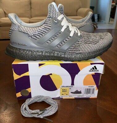 2ab716b1a35 Adidas Ultra Boost Triple Grey Gray 3.0 11.5 Men s Running LTD Silver Nmd  1.0 2
