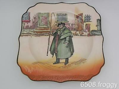 ROYAL DOULTON *DICKENS WARE* - *TOM WELLER* 1950's Display Plate - Excellent