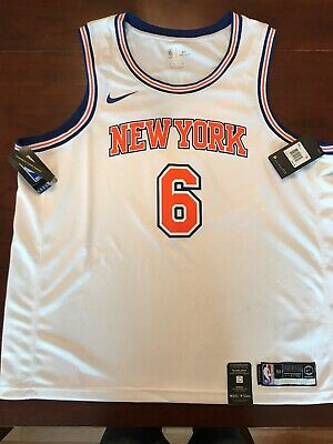 the latest 99c37 2933c NEW YORK KNICKS Kristaps Porzingis Nike Jersey Size XXL 100% Authentic