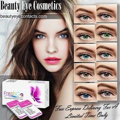 Vibrant Color Eye Contacts FREE Same Day Shipping U.S Stock