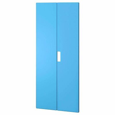 IKEA STUVA MALAD 2-Pack Door Front 60x128 ~ Blue: 001.690.94 + Hinges| Brand New
