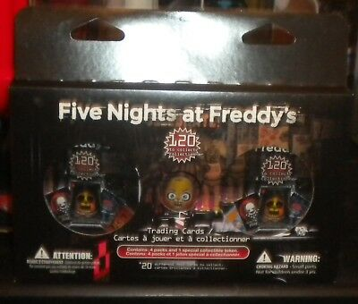 Cinq Nights at Freddy/'s Trading Card Starter Pack Livraison Gratuite *