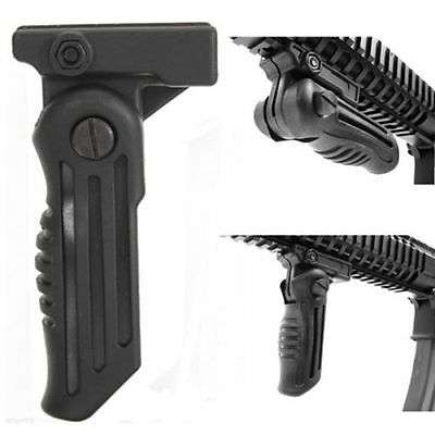 New Folding Foldable Vertical Foregrip Fore Grip 20mm Picatinny Weaver Rail
