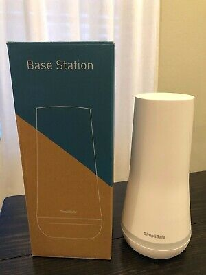 SimpliSafe Base Station (White). Part number BS3W