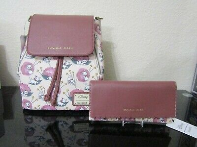 a115d0e22bd Loungefly Disney The Aristocats Marie Convertible Mini Backpack with Wallet  NWT