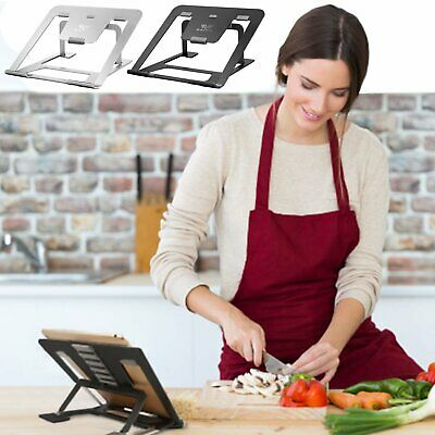 Portable Aluminium Laptop Stand Cooling Adjustable Tablet Holder Tray Desk SAVFY