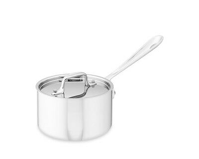 All-Clad Tri-Ply Stainless-Steel  1.5-qt Sauce Pan with lid