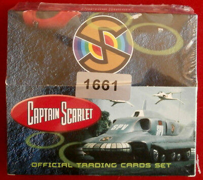 CAPTAIN SCARLET - Factory Sealed Box #1661 - 24 packs of 5 - Unstoppable Cards