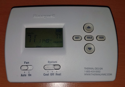 Honeywell Pro 4000 Digital 5 2 Programmable Thermostat White Th41100d1007 New