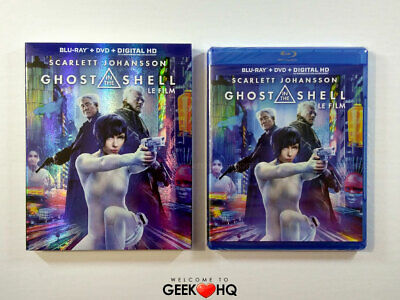 NEW SEALED - Ghost in the Shell the Movie * BLU-RAY/DVD - NTSC Version