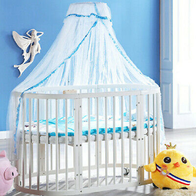 Summer Baby Bed Mosquito Mesh Dome Curtain Net for Toddler Crib Cot Canopy