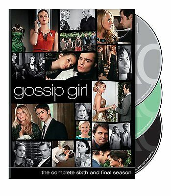 Gossip Girl: The Complete Sixth and Final Season 6 Six (DVD, 2013, 3-Disc Set)