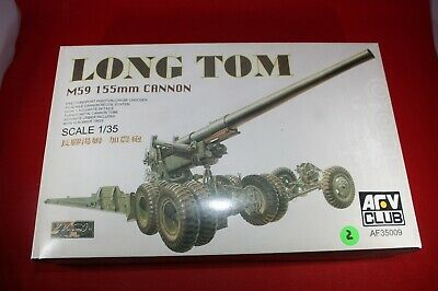AFV CLUB LONG TOM M59 155MM CANNON 1:35 Cod.35009