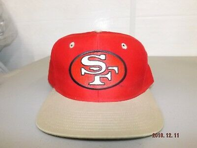 552ea948606 VTG SPORTS SPECIALTIES San Francisco 49ers Wool Fitted Hat Cap 7 1 8 ...