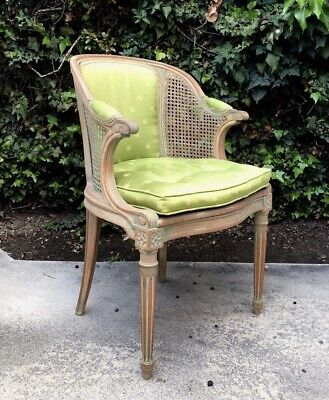 Early 20th Century Louis XVI Style Caned Carved Chair