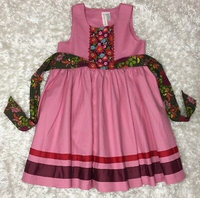 Matilda Jane Girls SIZE 12 NEW Paint by Numbers 2013 Calypso Dress NWOT