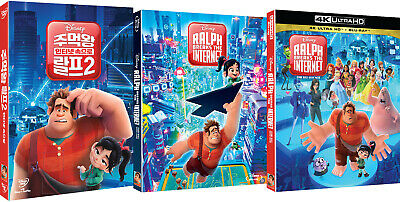 Ralph Breaks The Internet - 4K, Blu-ray, DVD Slip Case Edition (2019) / Pick one