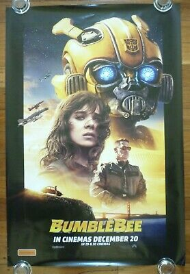 BUMBLEBEE Transformers Original 2018 Australian Advance One Sheet Movie Poster