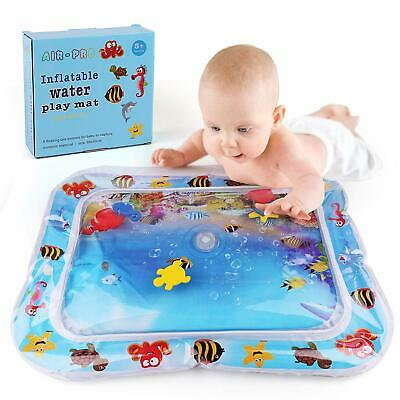 26'' Best Tummy Activity Time Inflatable Water Play Mat For Kids Baby  Sea Toys