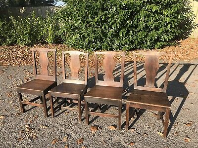 Antique Chairs Mismatched Set Of 8