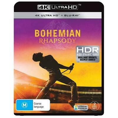 Bohemian Rhapsody (4K UHD +Blu-ray, 2019, 2-Disc Set)